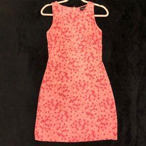 Vintage My Michelle Pink flowers dress